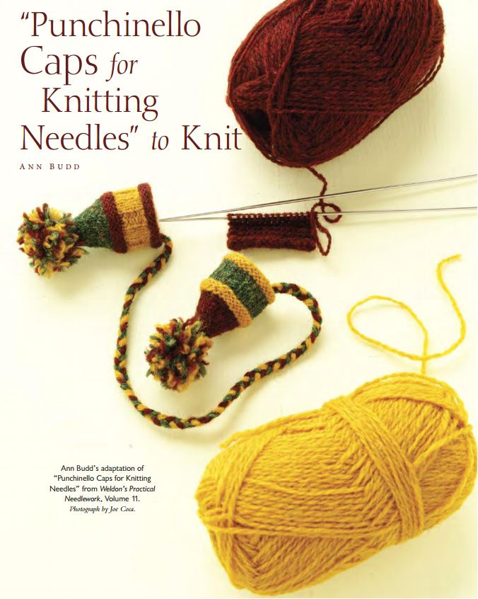 Ann Budd\'s Punchinello Caps for Knitting Needles pdf FREE DOWNLOAD ...