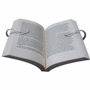 117187  1-3-E Gimble Bokholder Perfekt bokstøtte som holder boken oppe!