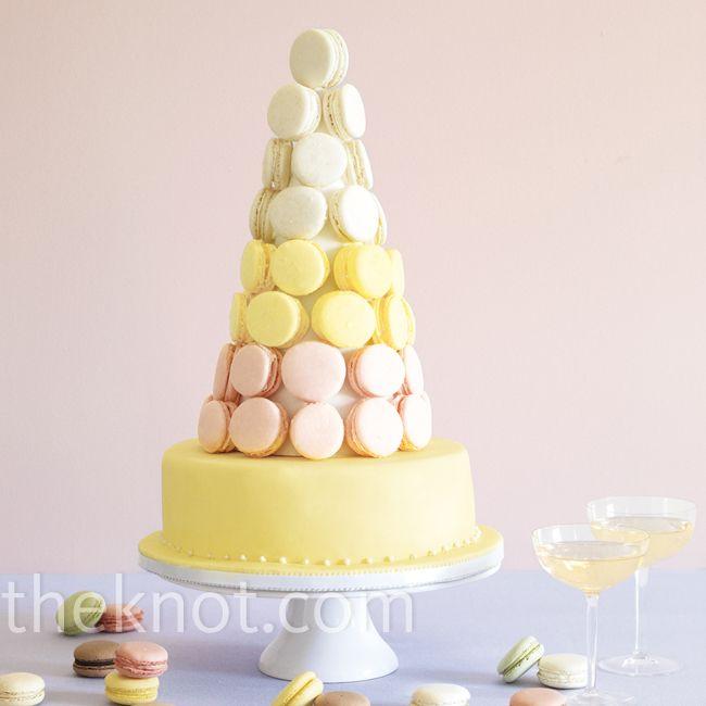 Macaron Wedding Cake by Brooklyn Cake, Brooklyn, NY | Wedding cake ...