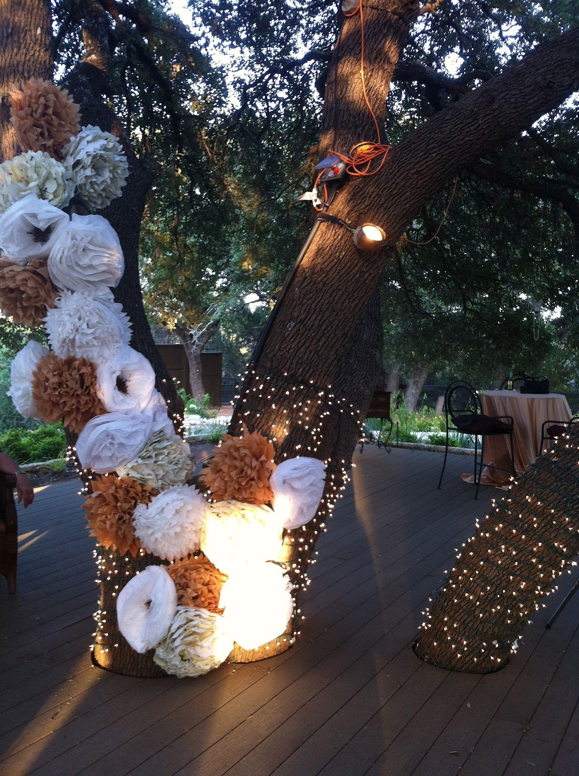 Antebellum oaks open house photo booth idea diy