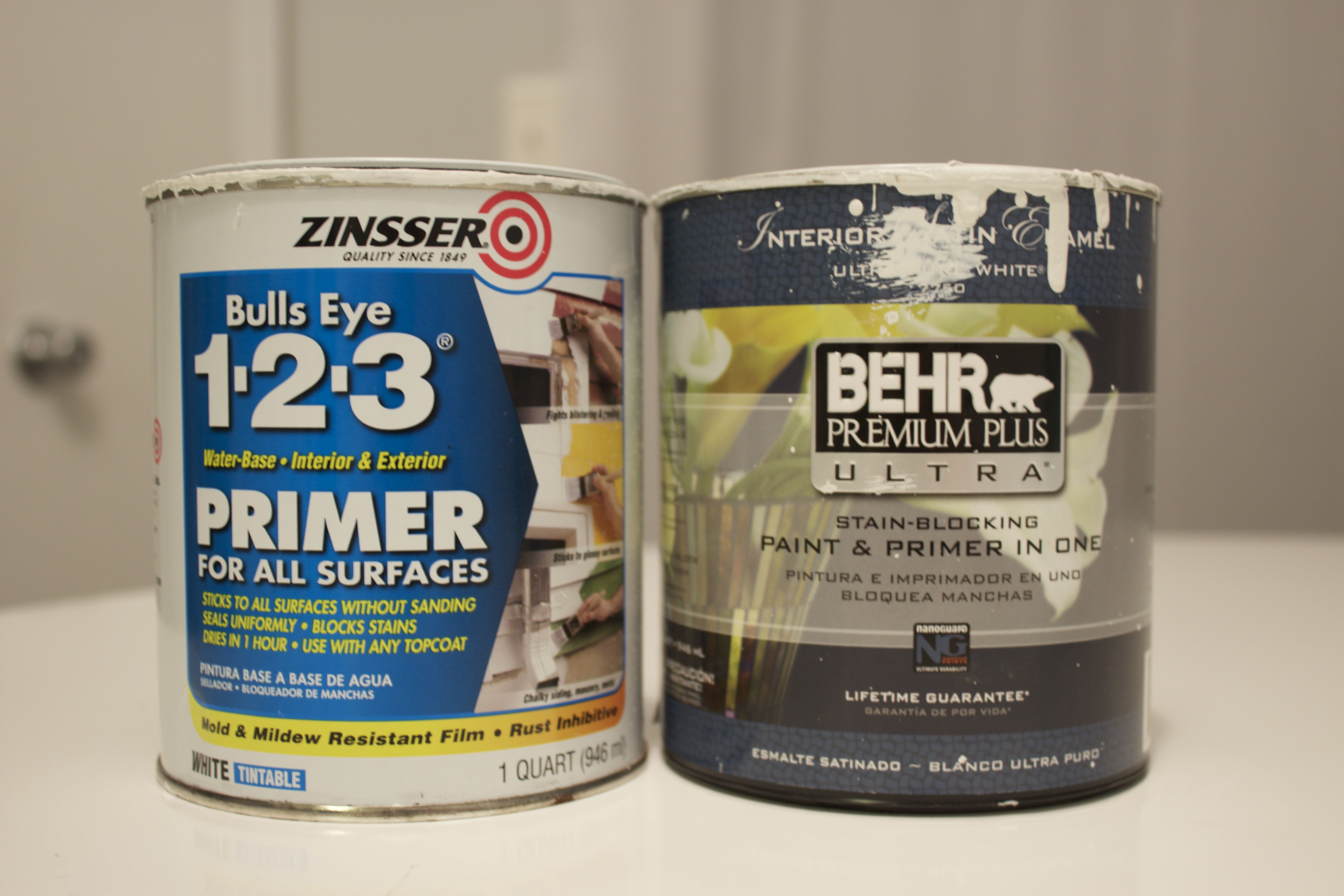 The Striped House Best Primers Paints Primer For Kitchen Cabinets Painting Cabinets Paint Primer