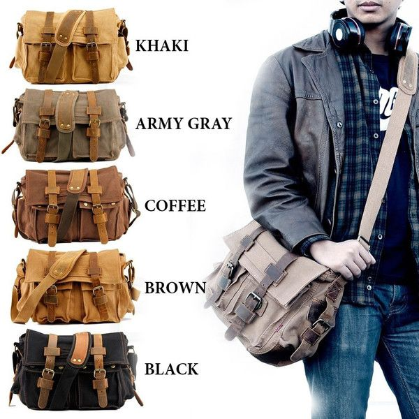 Mens Travel Or Day Shoulder Bag National Parks Depot