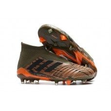 Buy Adidas Predator 18 FG - Adidas Predator 18 FG Laceless Football Boots - Trace  Olive Core Black Bright Orange 3ce4f1d18