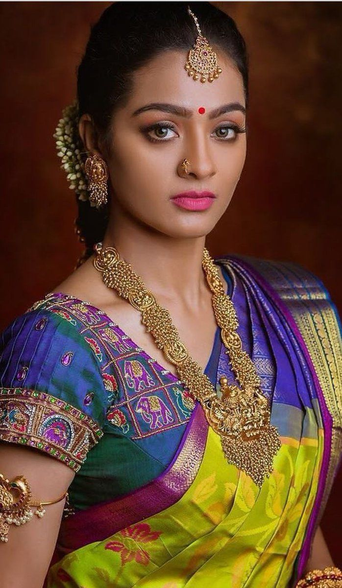 Pin By Chandru On Architecture: Blouse Designs, Beautiful Indian Brides, Saree