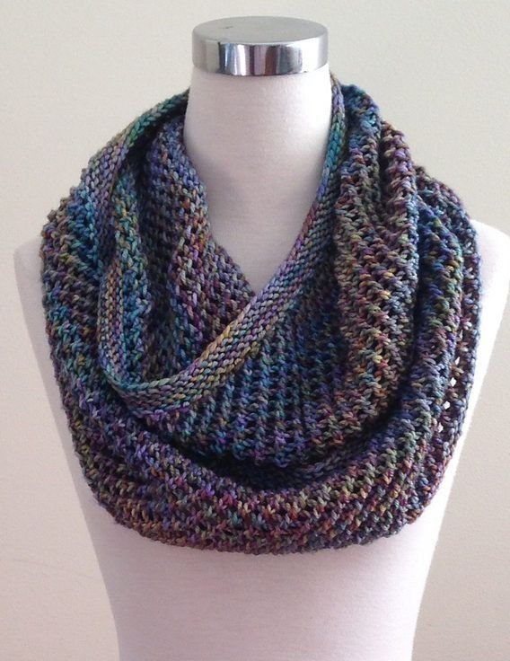 Free Knitting Pattern for Autopilot Cowl - This infinite scarf ...