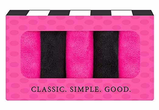 Makeup Remover Cloth (5 pack Black/Pink