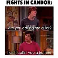 I WOULD NOT want to be in Candor