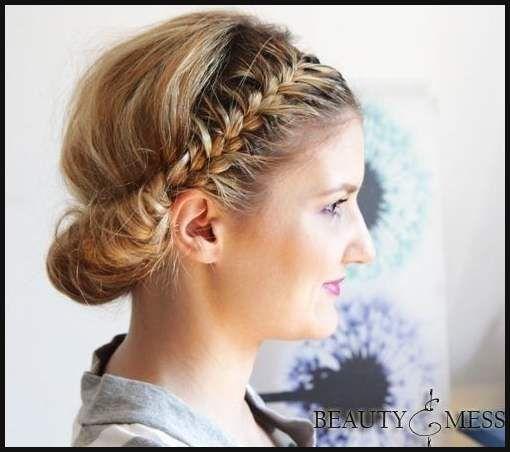 27 Trendige Hochsteckfrisuren Für Mittellanges Haar Einfache