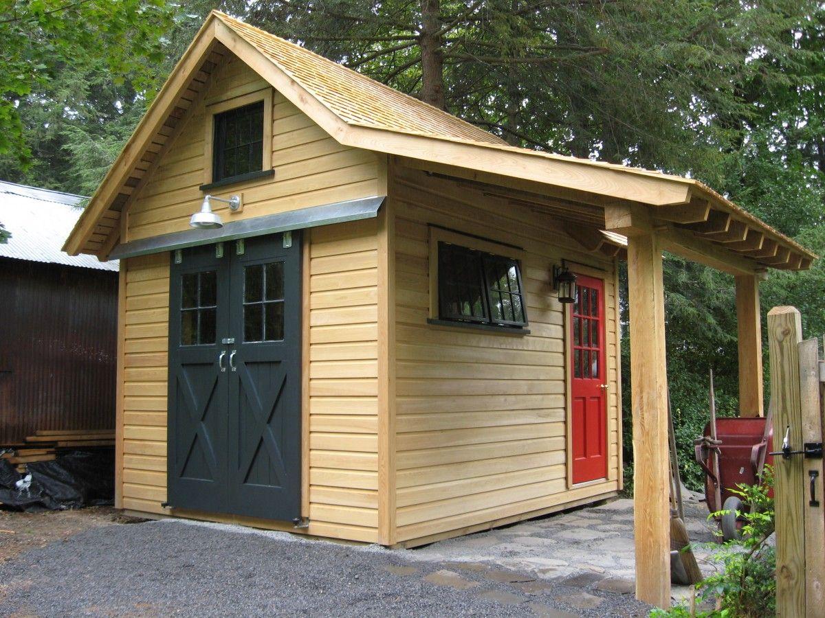 Miller S Outbuilding Fine Homebuilding Backyard Sheds Shed Design Building A Shed