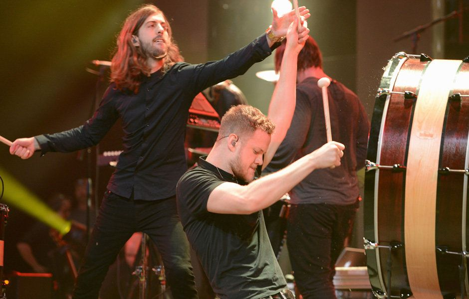 Imagine Dragons performs onstage during the Amnesty International Concert