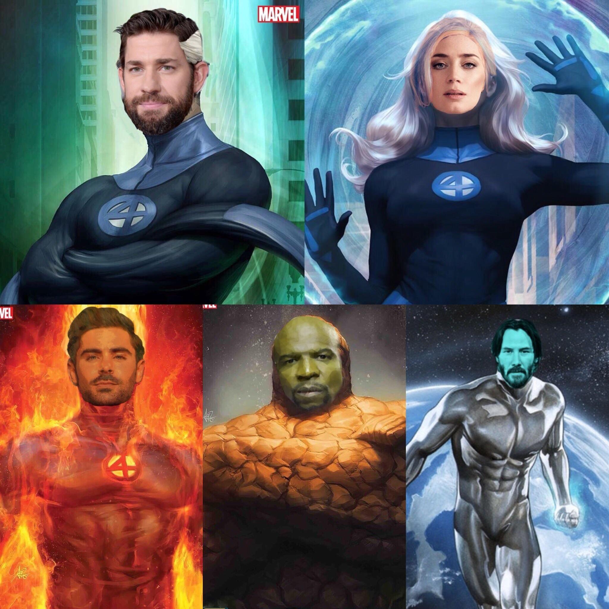 My Fantastic Four Mcu Fancast Marvel Comics Wallpaper Marvel Artwork Fantastic Four