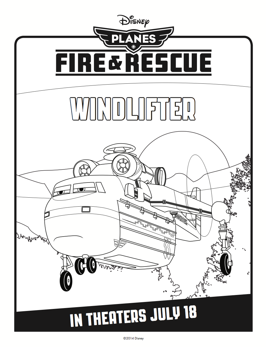 Windlifter Coloring Page | Color In ✎ | Pinterest