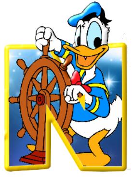 Alfabeto De Personajes Disney Con Letras Grandes Personajes Disney Alfabeto Disney Letras De Mickey
