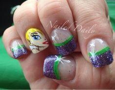 Disney Nails Art on Pinterest