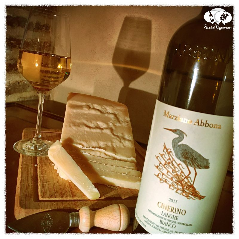 Score 87+/100 Wine review, tasting notes, rating & cheese pairing of Marziano Abbona Cinerino. Description of aroma, palate, flavors. Join the experience.