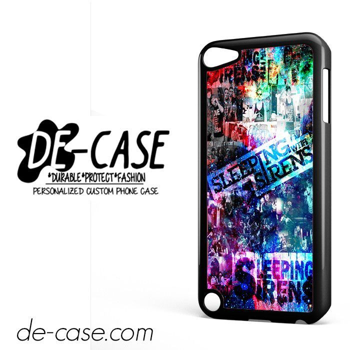 Sleeping With Sirens In Galaxy Nebula DEAL-9685 Apple Phonecase Cover For Ipod Touch 5