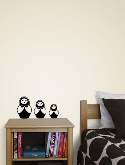 I found 'Russian Dolls Decal' on Wish, check it out!