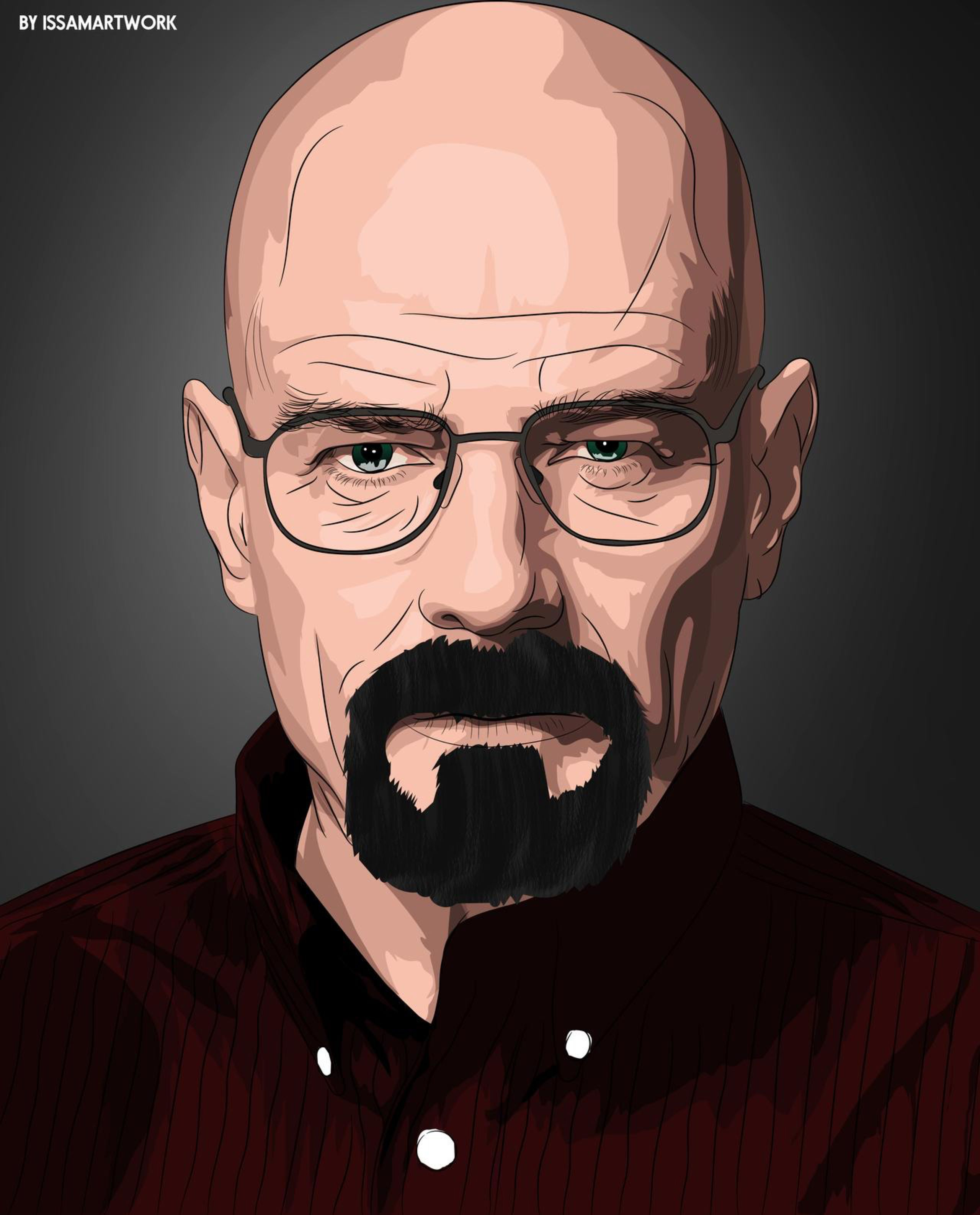 Walter White Vector Art By Issam Gfx On Deviantart Walter White Art Walter White Drawing Walter White Funny