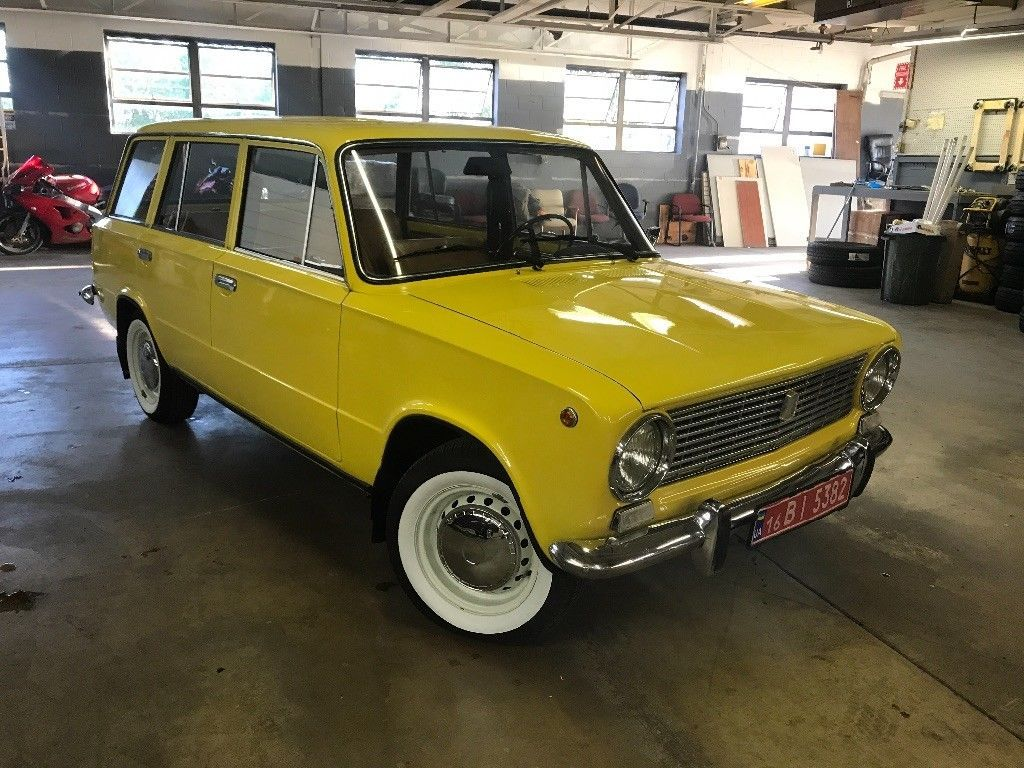 VAZ 2102 - the first station wagon