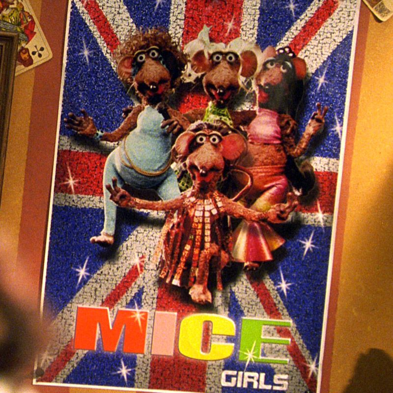 The Mice Girls Are A Rat Girl Band In Muppets From Space A Spoof Of