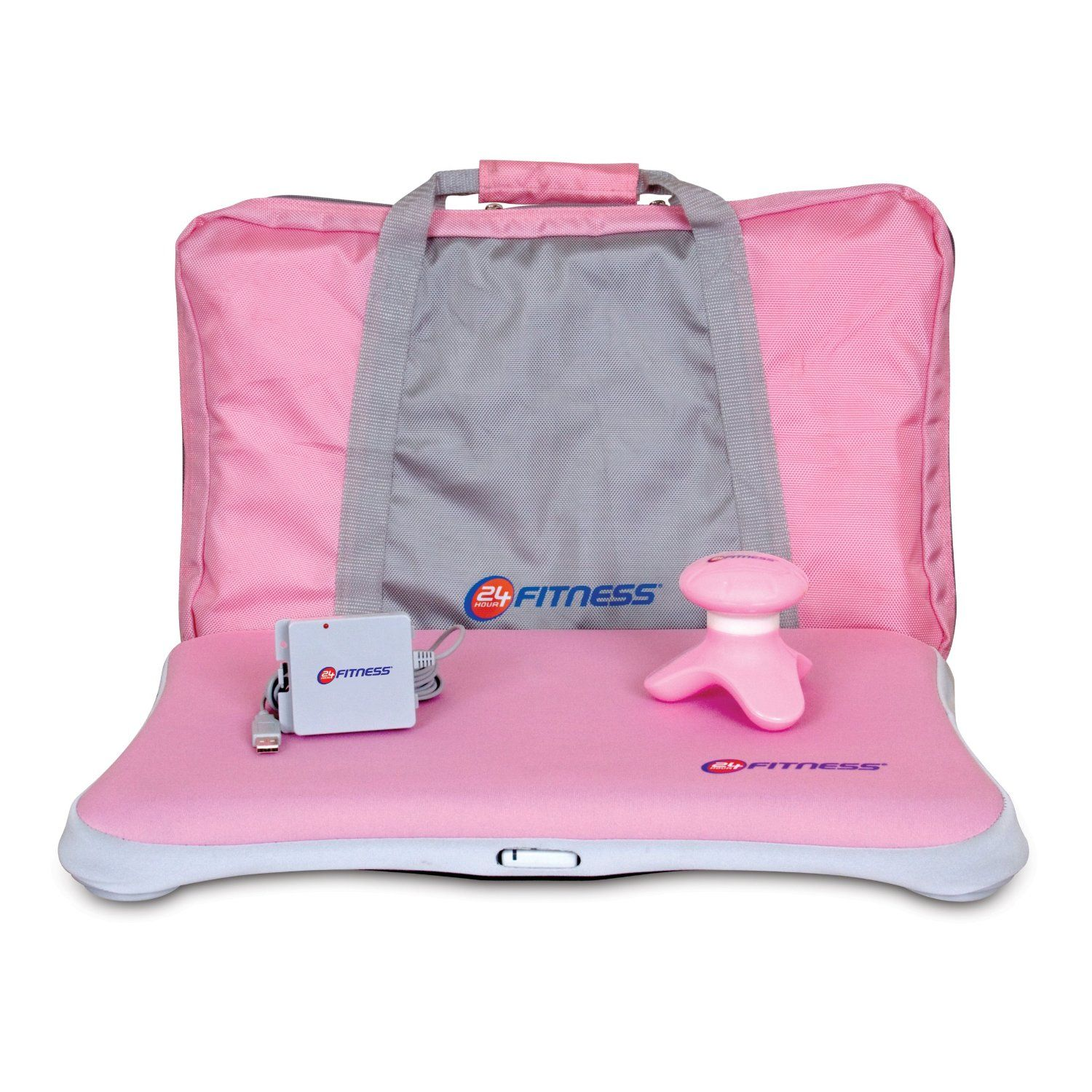 Dreamgear wii 4in1 24 hour fitness bundle pink 24