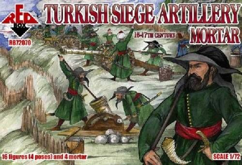 The Latest 1 72nd Release From Red Box Rbx 72070 Turkish Siege Artillery Mortar Xvi Xvii Century View All Red Box Http Www Artillery 17th Century Century