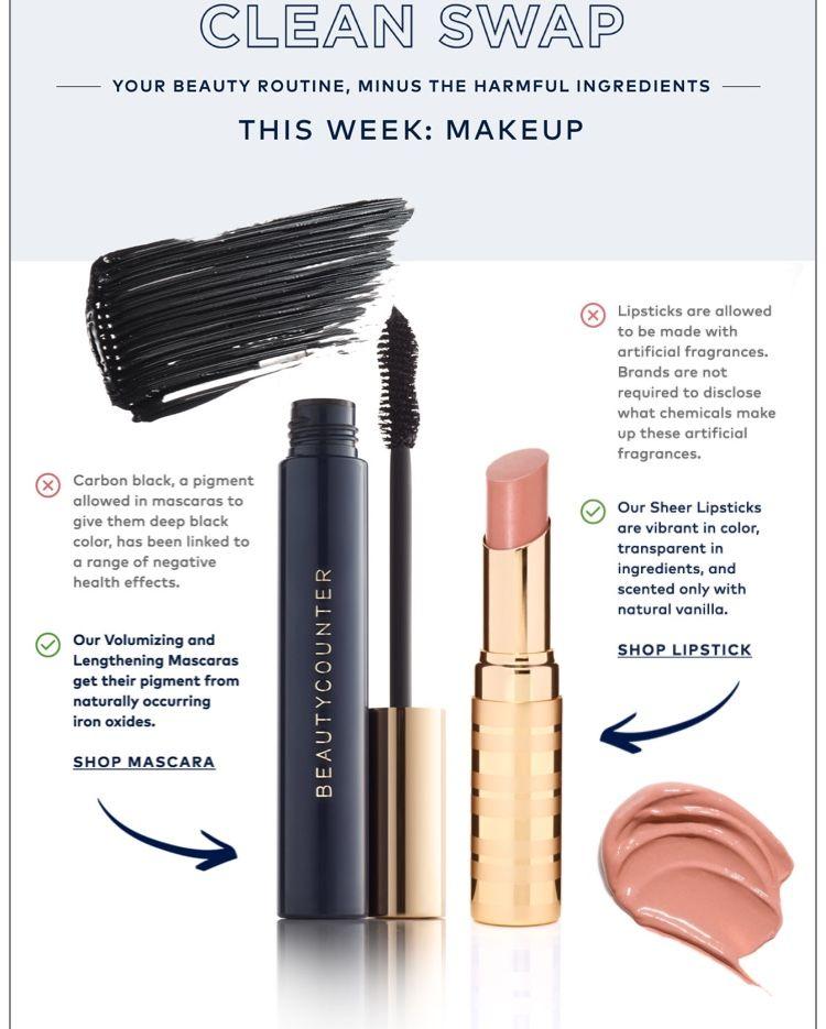 43e8b336002 Beautycounter Clean Swap: Mascara and Lip Sheer   Beauty is skin ...