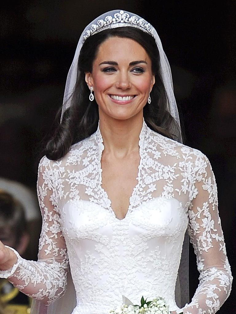 Resultado de imagen de kate middleton vestido boda