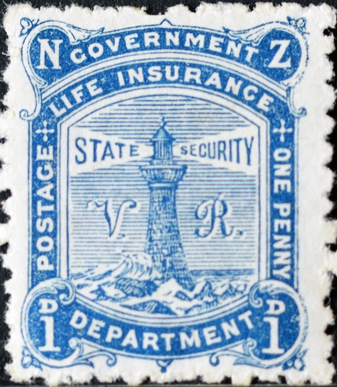 New Zealand (328) Gov. life insurance stamps 1891 1897