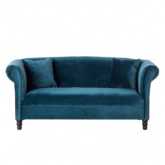 Sofa Aviva (2-Sitzer)   Sofa türkis, Zweisitzer sofa und ...