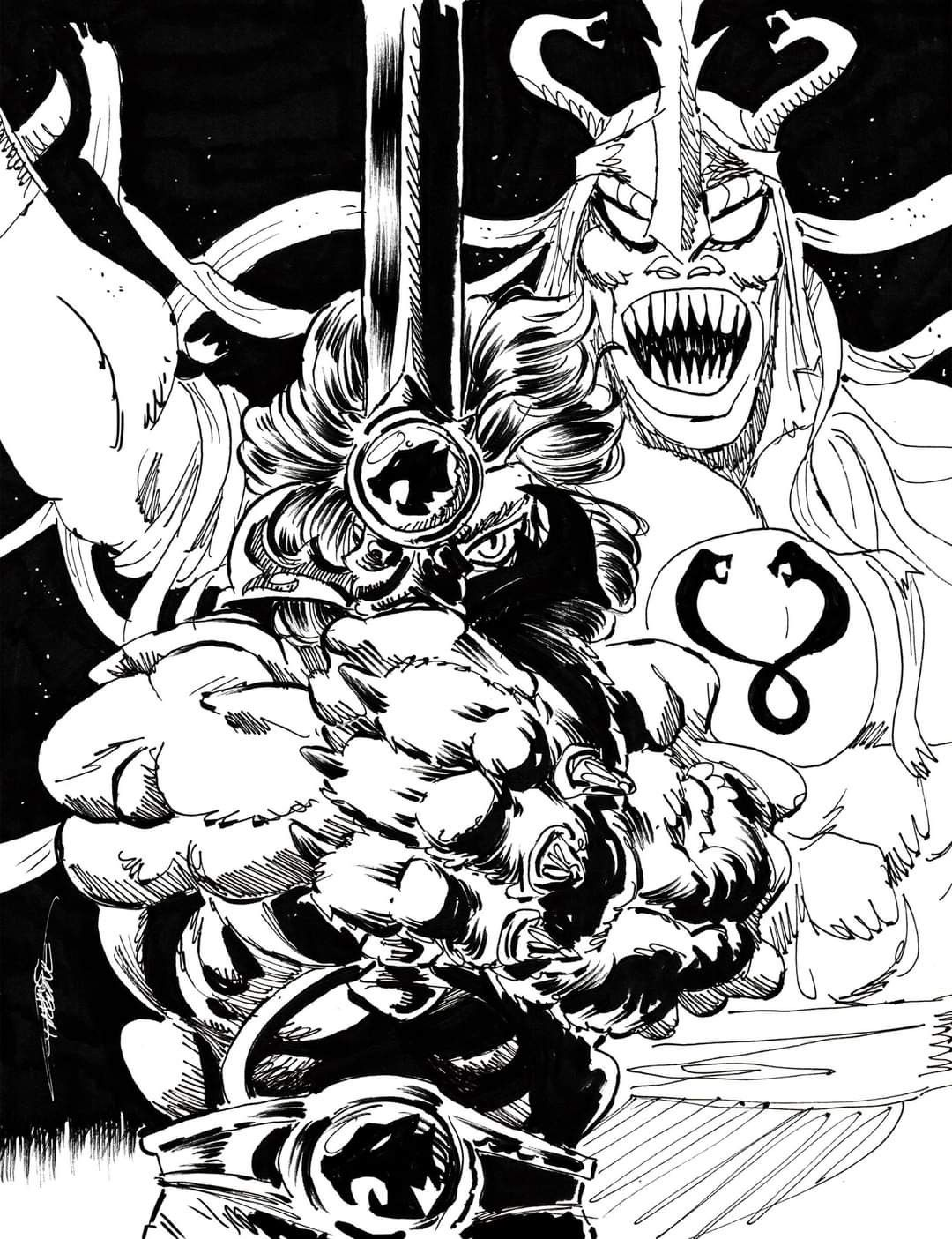 Thundercats By Chris Faccone Thundercats Coloring Pages Cards