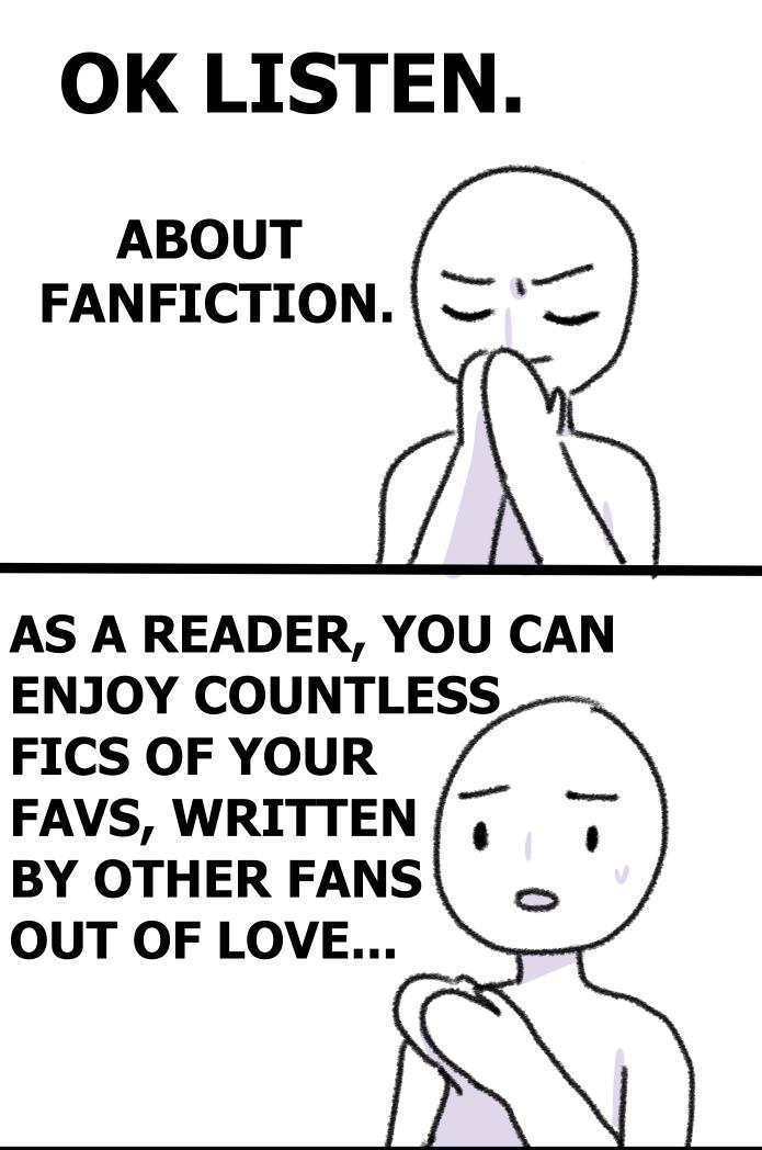 Forsakenoathkeeper: if u dont acknowledge the fanfics u read, the writer wont think anyone is act... - #acknowledge #act... #anyone #fanfics #forsakenoathkeeper: #won't #writer