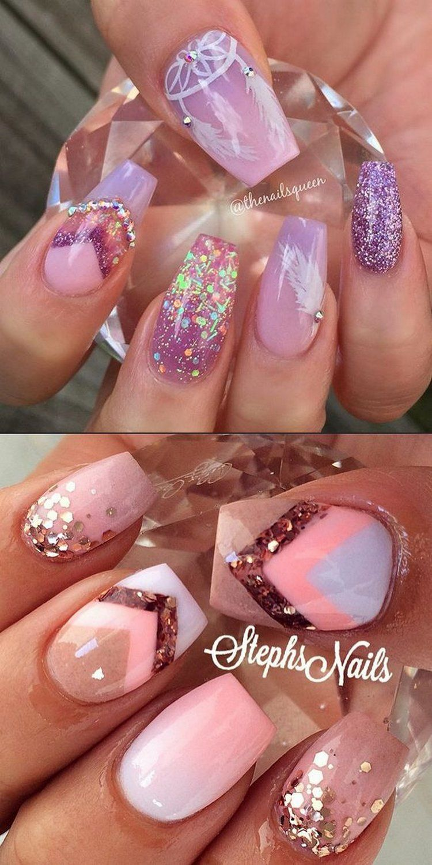 trending pink nail art u polish color ideas nail trends