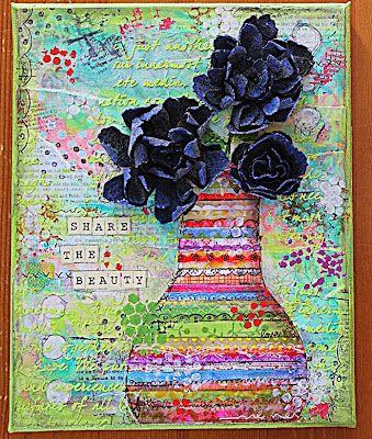 Elliam - Share the beauty Art journaling