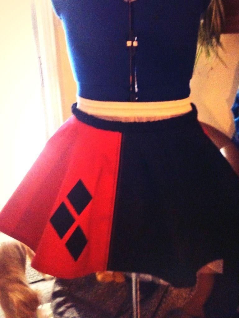 Harley quinn skirt thenerdgirlcosplaysus style harley quinn