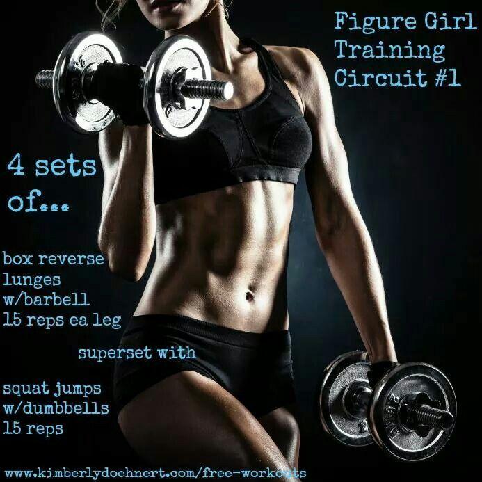Figure Girl Training Circuit #1