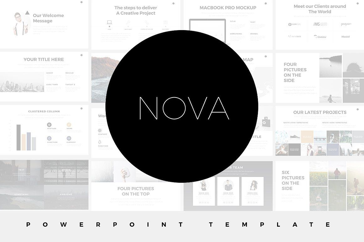 Nova minimal powerpoint template by slidedizer on creativemarket nova minimal powerpoint template by slidedizer on creativemarket toneelgroepblik Gallery