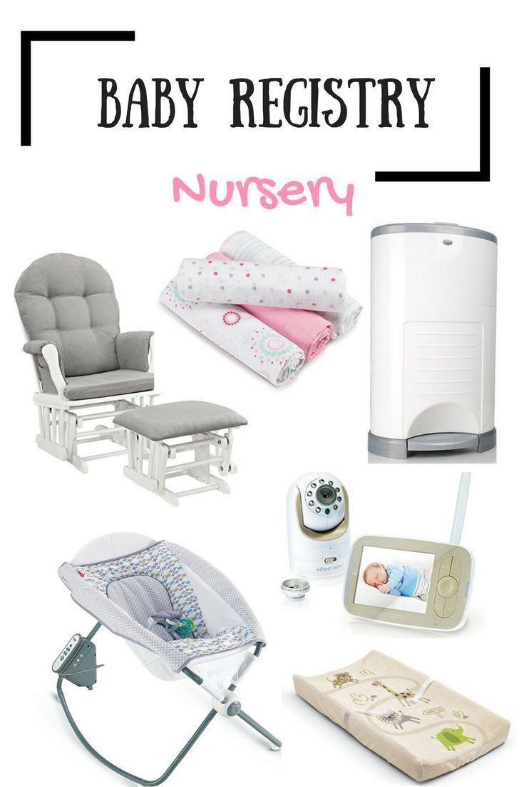 Baby Registry: Nursery | Baby registry, Baby registry ...