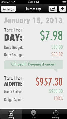 trail wallet travel budget and expense tracker iphone app
