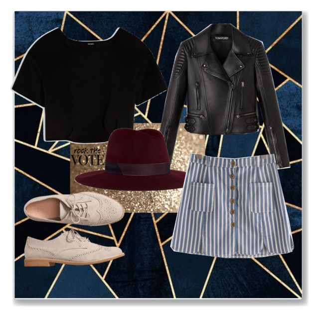 """""""🖤"""" by viktoriassd ❤ liked on Polyvore featuring Max&Co., Janessa Leone and Gap"""