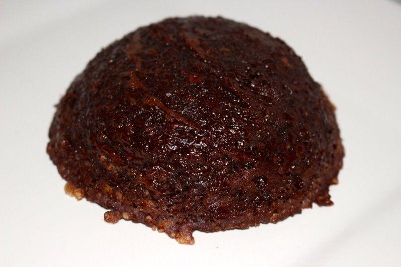 Bowlcake au chocolat sans banane au micro-ondes