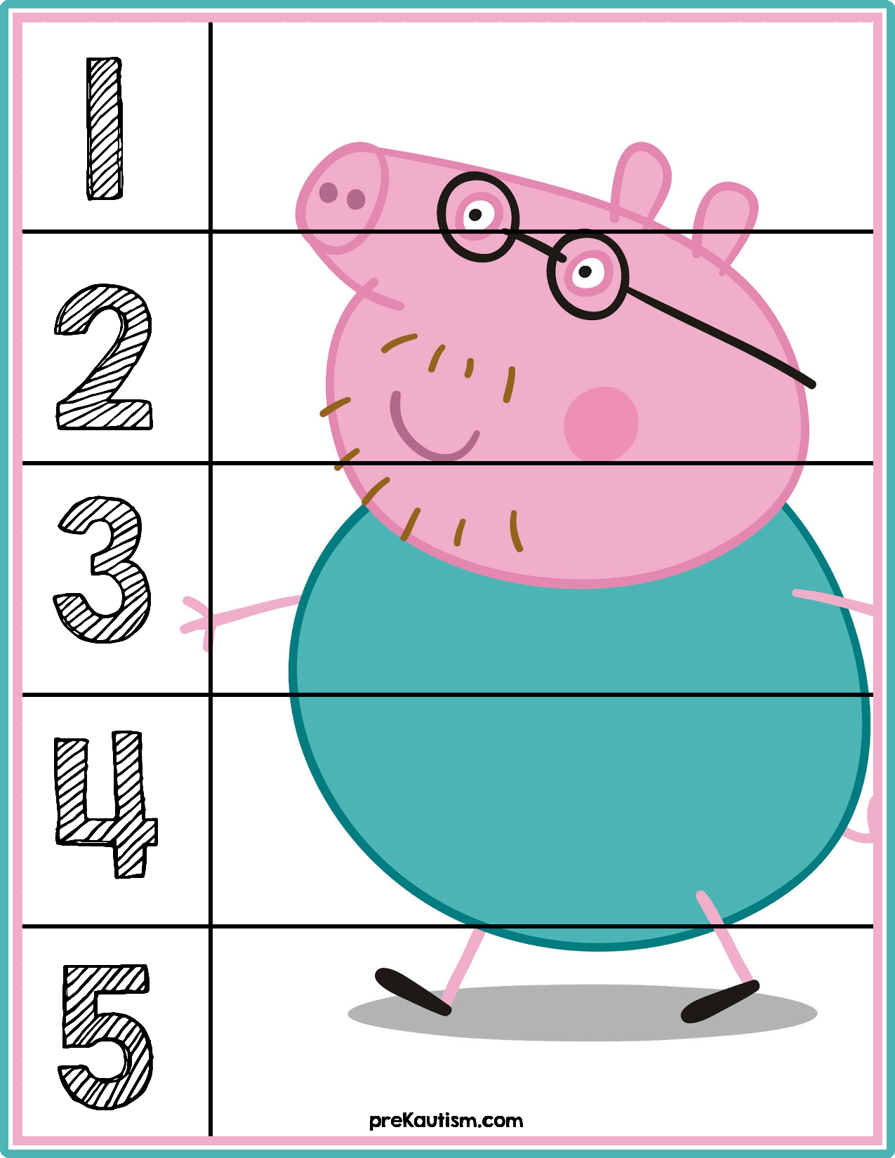 Free Educational Materials | Pinterest | Number puzzles, Learning ...