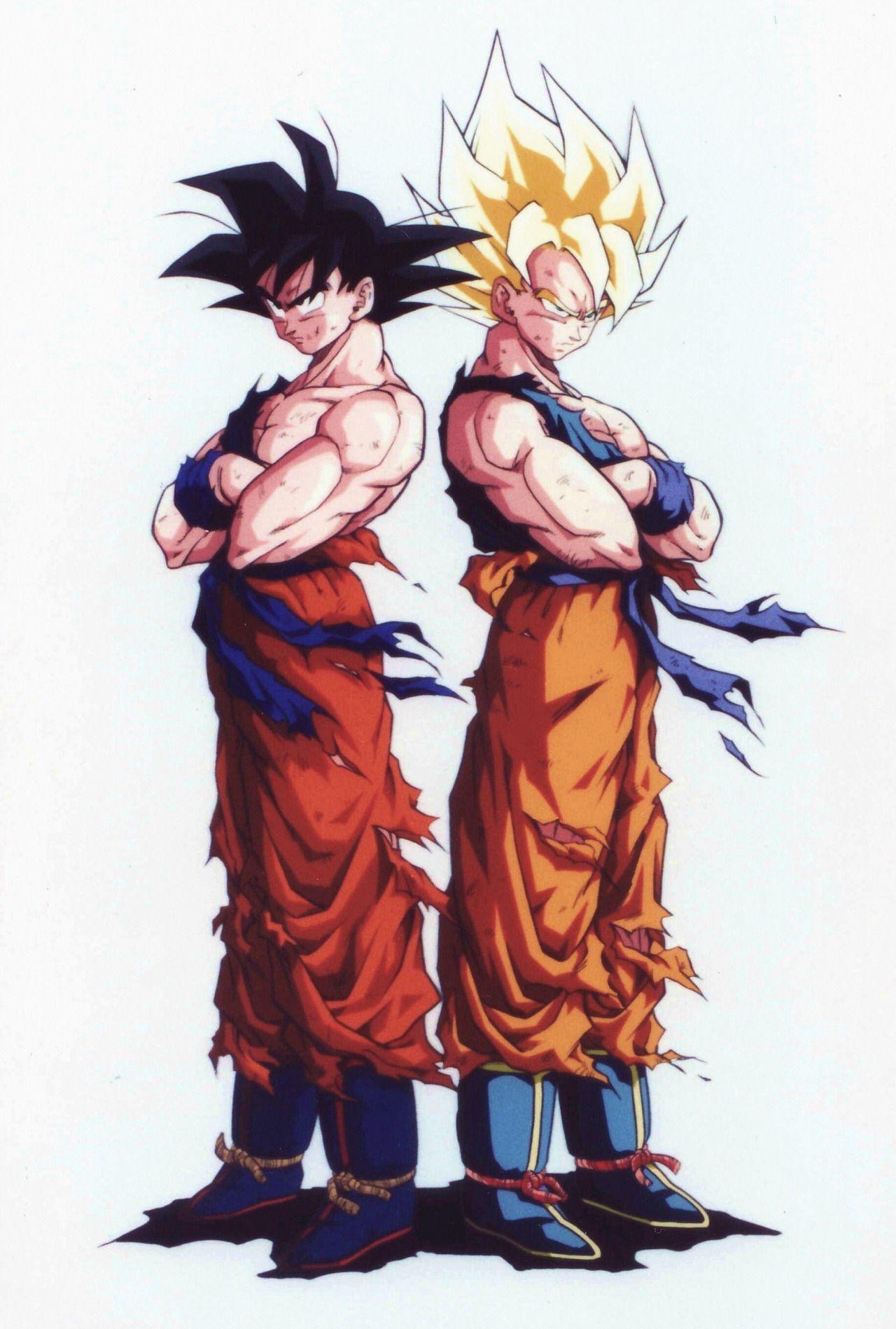 80s90sdragonballart Dragones Personajes De Goku Dragon Ball Gt
