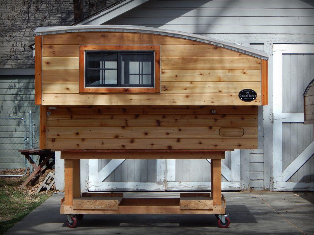 Tacoma camper wood work pinterest homemade camper for Cabover house plans