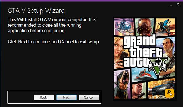 Download Gta 5 Setup Wizard