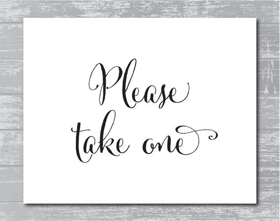 photo regarding Please Take One Sign Printable named Prompt Down load Remember to Acquire A person Indication 8x10 by way of