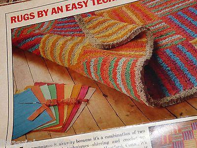 Vtg Weaving Loom Craft Tool Shirret Louise Mccrady Rug Making Deep Pile Fabric Ebay