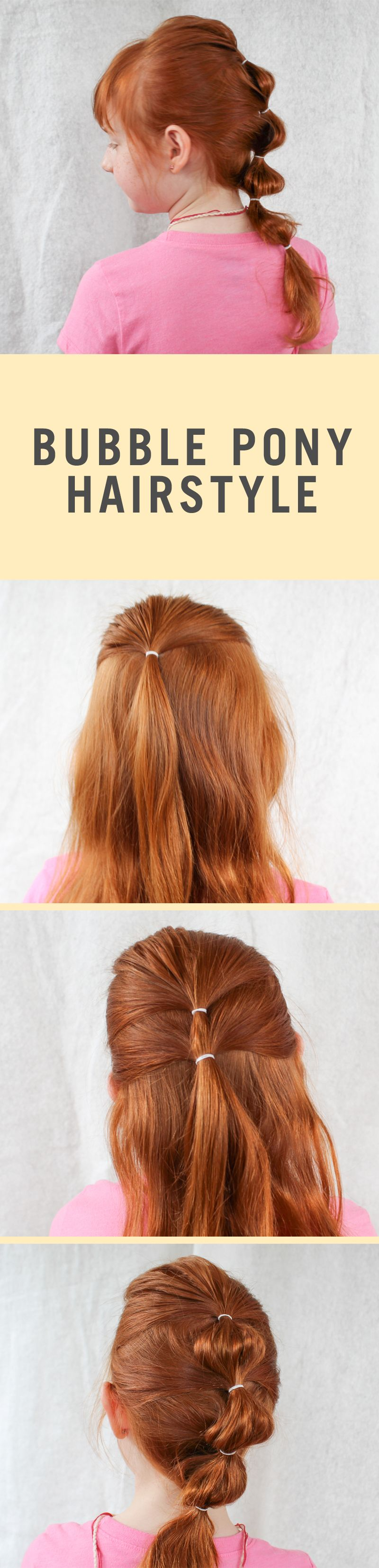 5 Minute Back to School Hairstyles Pinterest