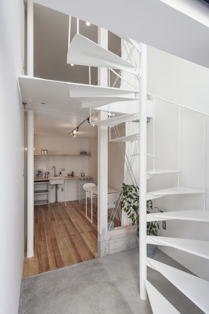 Gallery Of Spiral Be Fun Design 9 Tiny House Stairs Tiny House Interior Design Apartment Design