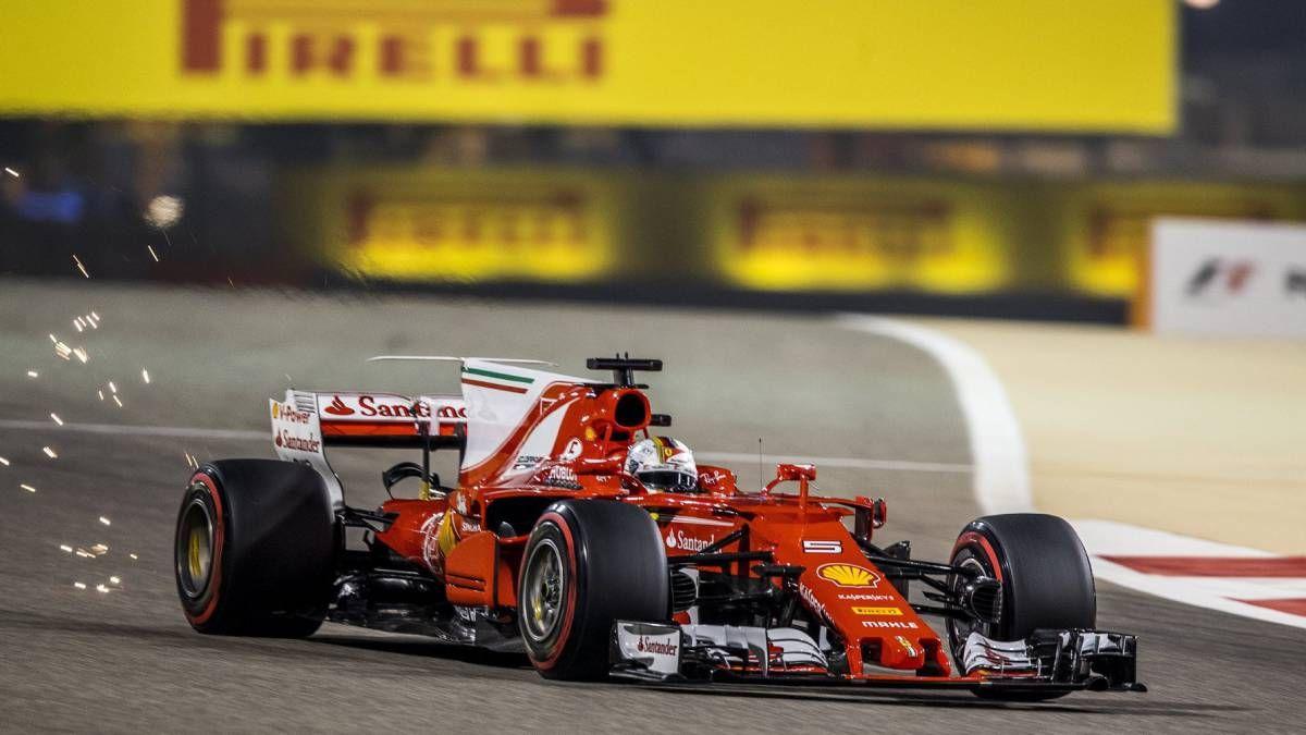 Bahrain formula 1 gp 2017 sebastian vettel winner